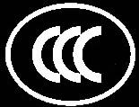 黑底CCC认证标志